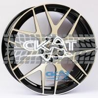 Alexrims AFC-3 (forged) 8,5x19 5x130 ET50 DIA71,6 (polished surface + black inside)